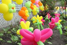 Balloon Flowers and Other Creations