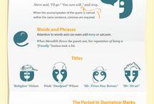 !! punctuation..