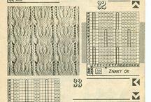 Vzory pletenie,háčkovanie