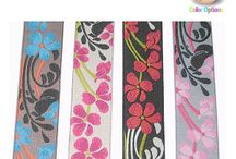 Fabric Trims / We offer Wide Variety of fabric trims, iron on appliques, embroidered applique patches for your Crafting needs