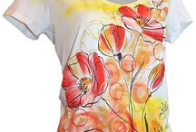 maľované tričká