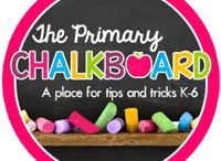 The Primary Chalkboard / Your place for tips & tricks K-6! / by Karen Jones
