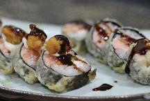 Sushi Hot / Sushis Empanados e Frito.