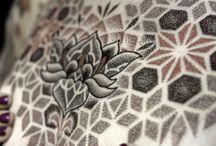 Tatuajes | Puntillismo