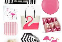 Flamingo Party Ideas / by The TomKat Studio