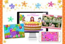 tarjetass de cumpleaños para mujeres