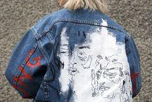 Jacket painting