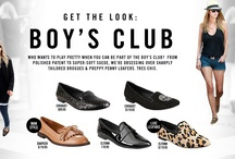 The Boys Club- Loafer Trend / by Steve Madden