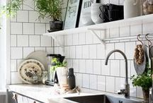 Kitchen Inspiration / Because one kitchen also can be used for decoration, let you inspiring. #kitchenideas #homedecorideas #kitcheninspiration
