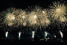 Fireworks at NAGAOKA, NIIGATA, JAPAN