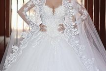 Ball Gown Wedding Outdoor