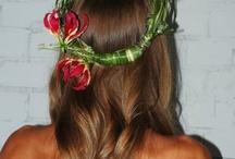 Wreath on  Head
