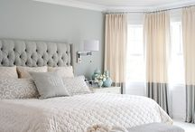 Bedroom coral and neutrals / Soft tones with coral , bedroom redo