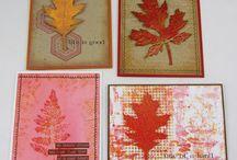 Autumn Art / Autumn inspired art and cards