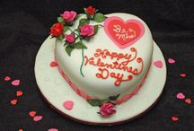 Valentine's Cake Creations / Cakes created for Valentine's Day. / by Frances Gill