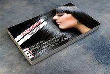 Modele carti de vizita Hairstylist / Modele gratuite de carti de vizita pentru hairstylisti