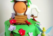 Tinkerbell cake house/ tarta casa campanilla  / WWW.memcakesandcookies.com