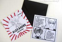 Anniversaire Manga