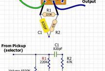 Yamaha Pacifica 302s Rewiring / Dimarzio HFH + Lil 59