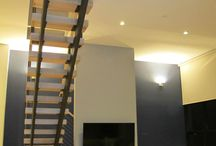 NYC Loft Stairs / Here is a set of architectural stairs we recently built for a NYC loft.