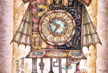 Decoupage steampunk