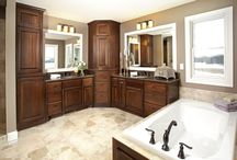 CUSTOM BATHROOMS / Custom designed cabinetry and woodworking for any size bathroom, storage need or desired style. Make your bathroom yours!