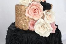 Bruidstaarten zwart