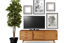 Lounge - TV wall
