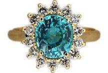 Zircon Gem Jewelry