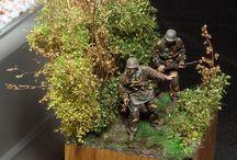 Dioramas-Military
