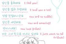 Learning korean