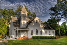 Barns, Churches and Buildings / by Racquel Weaver