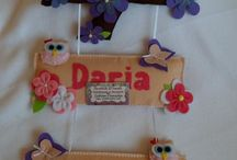 decoration / Personalized decoration felt  20$