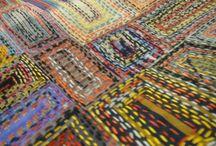 Textile Stitch rhythms