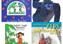 Books: Get into Action / Fun children's books that get children into action