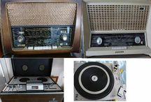 Radio's / I like old radio's or Music players,