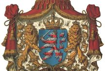 Almanach de Saxe Gotha - Grand Duchy of Hesse and by Rhine - House of Brabant / The Grand Duchy of Hesse and by Rhine (German: Großherzogtum Hessen und bei Rhein), or, between 1806 and 1816, Grand Duchy of Hesse (German: Großherzogtum Hessen)-as it was also known after 1816-was a member state of the German Confederation from 1806, when the Landgraviate of Hesse-Darmstadt was elevated to a Grand Duchy. Almanach de Saxe Gotha Page: http://www.almanachdegotha.org/id47.html