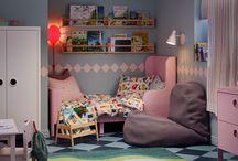 Dormitorios Infantiles / camas, alfombras, niños