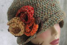 vintage crochet beanie