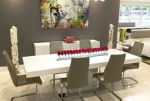 Modern Dining Room / SoBe Furniture is an one-stop modern living destination for home owners and interior designers alike, offering a selection of over 10,000 stylish modern and contemporary products, including our very own line of custom-made furniture.  http://www.sobefurniture.com/miami-furniture-store-dining-room.html
