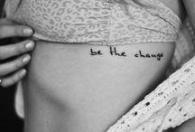 Tattoos / by Alex Ruttan