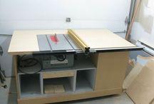 Fűrész asztalok - Table saws