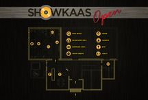 Showkaas Open / Showkaas event Flyers, posters and more.