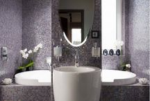 En suite ideas / Small room washroom