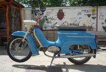 Vlastní sbírka Jawa / Ukázka vlastní sbírky motocyklů značky Jawa
