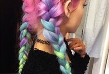 Pastel Hairstyles / Pastel hairstyles are pretty cool