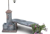 giardino /fontane /piante/vasi
