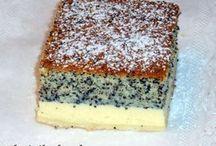 koláče, dezerty