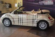 Bilfoliering / En del kule folieringer av biler