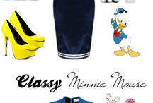 Disney characters + some costumes / I'm going on a kamp with a Disney theme